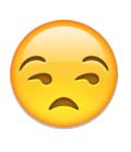 emoji smirk