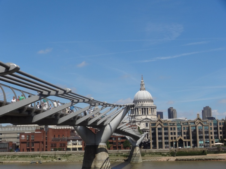 St. Paul's Cathedral & The Millenium Bridge