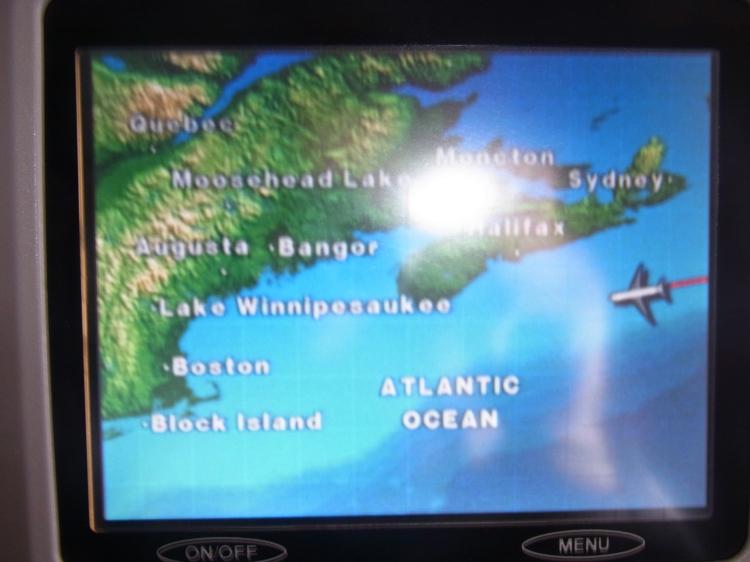 boarding in plane