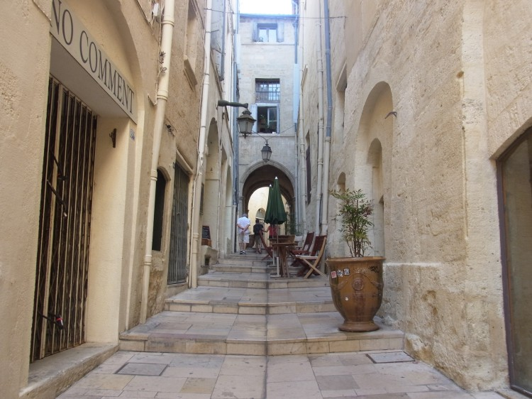 a street in montpellier