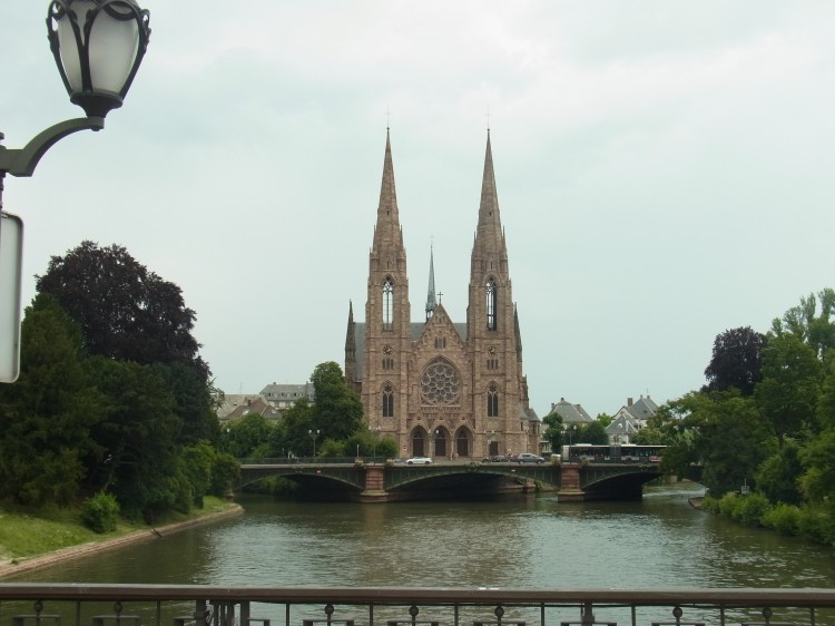 Saint Paul's Church, Strasbourg, France.