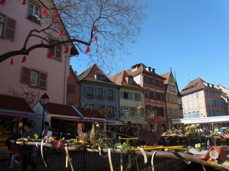 colorful houses colmar