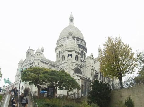 The Sacré Coeur, in Paris.