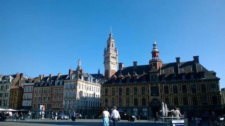 la grand place Lille