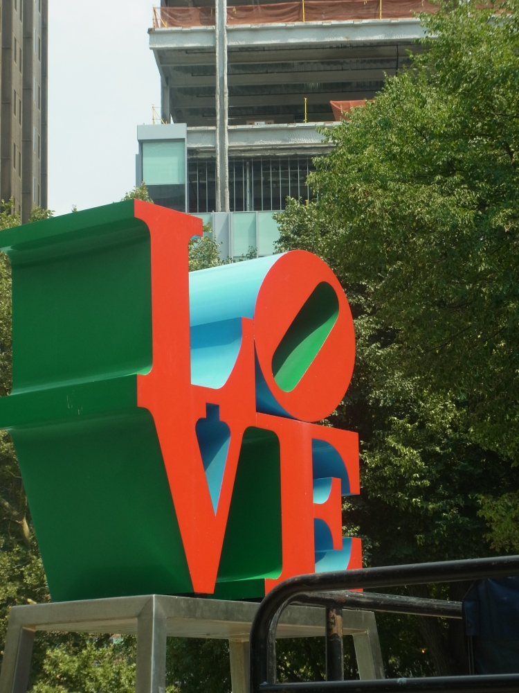 Love Sign - JFK Plaza