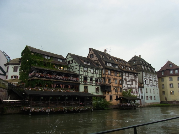 Half-timbering houses