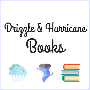 DRIZZLE and HURRICANE BOOKS